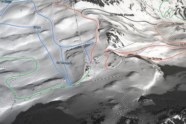 Mapas de esquí para esquiadores de hoy