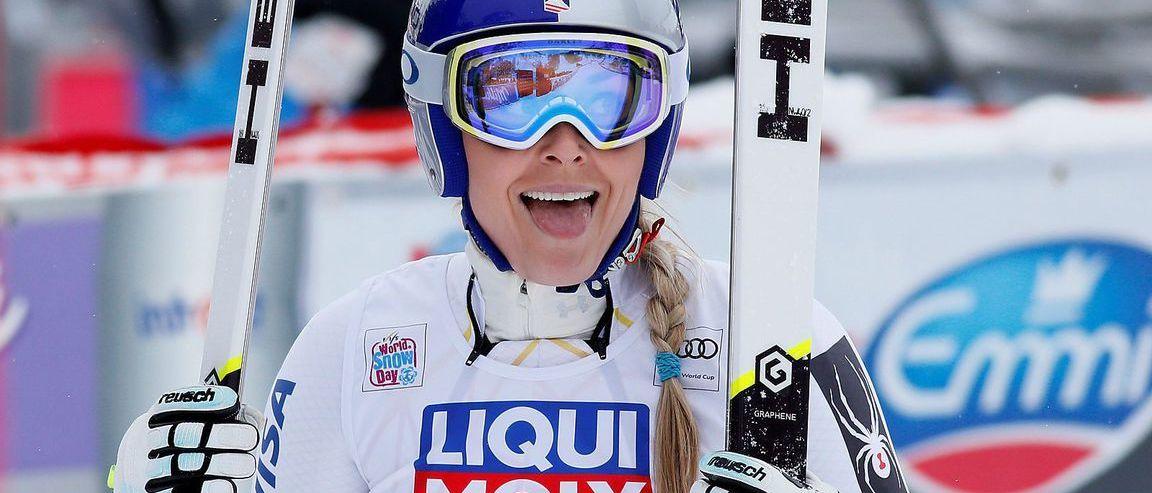 Lindsey Vonn vuelve a las victorias en el Super-G de Val d'Isère