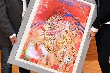 Polémica por este cartel de Semmering con una mujer desnuda