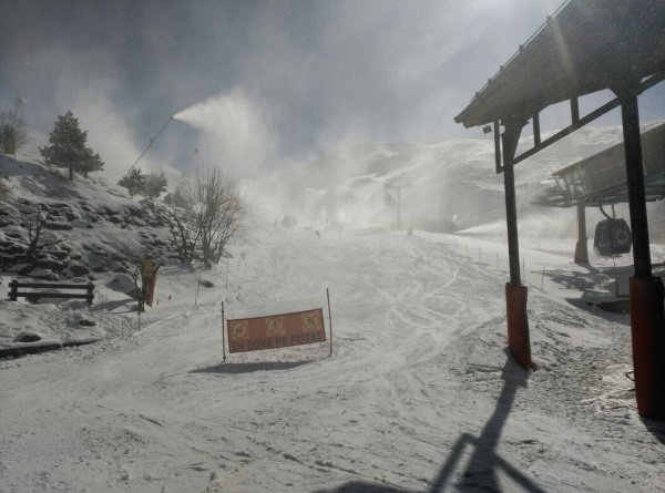 primera nevada año 2015