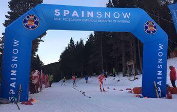 Senior y promesas del esquí de fondo compitieron en Tuixent-La Vansa