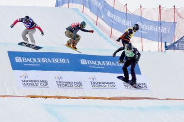 La Copa del Mundo de SBX vuelve a Baqueira Beret
