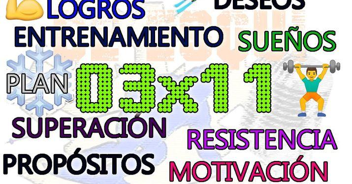 03x11 Psicología en el esquí: deseos, sueños y objetivos. Copa España Masters, Nuria Pau y los extraterrestres...