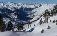 Probando... ¡el esquí de travesía!