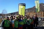 El esquí adaptado acerca la nieve a 30 personas con discapacidad