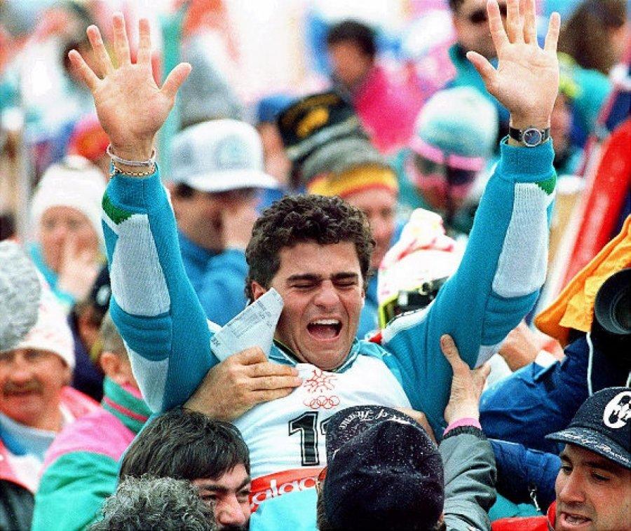 Alberto Tomba - Calgary'88