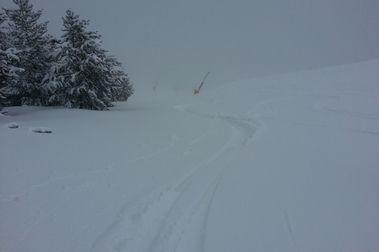 El mejor día de esquí de la temporada...