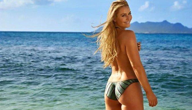 Lindsey Vonn se 'desnuda' para Sport Illustrated