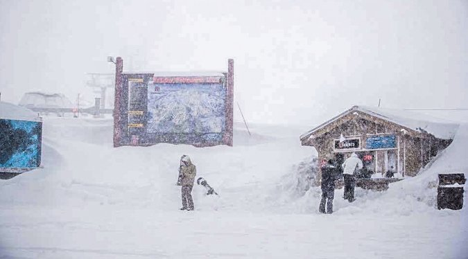 Centro de ski Mammoth Mt supera los 10 metros de nieve acumulada