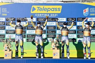 Noruega se lleva el oro en la final mixta por equipos de Cortina d'Ampezzo 2021