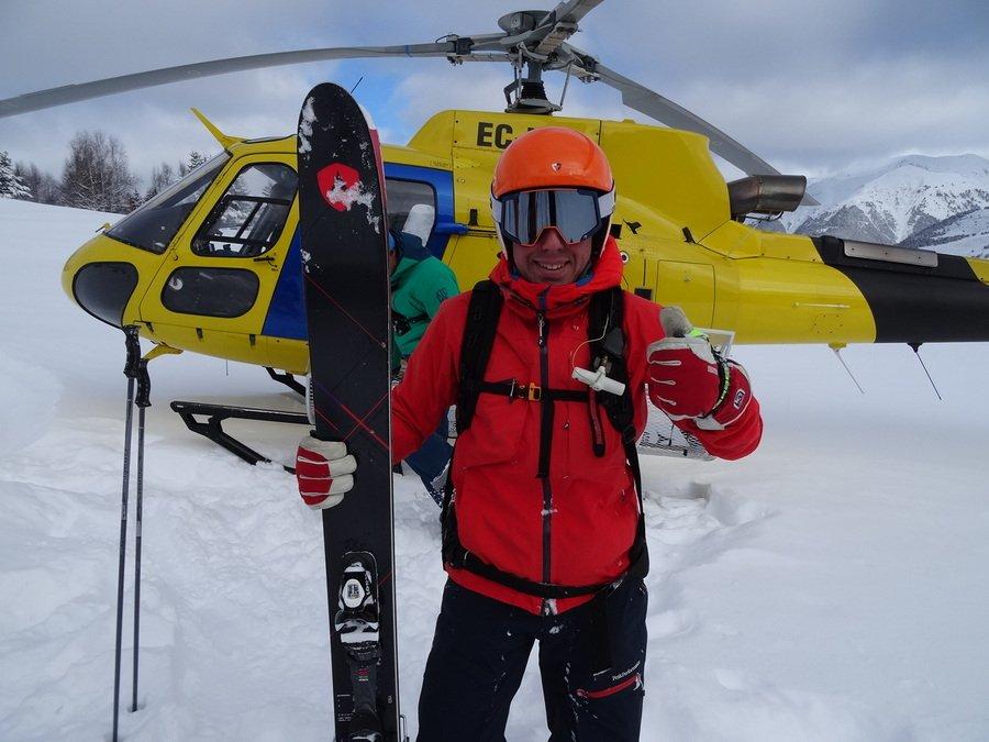 ¿Esquís super anchos? Probando los Cham 117