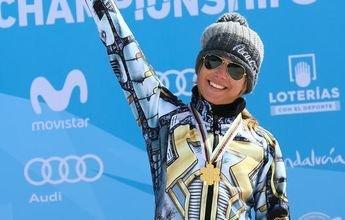 Ester Ledecka hace historia en Sierra Nevada y además se lleva un oro
