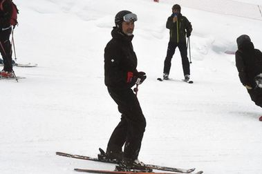 EL Rey Felipe VI vuelve a elegir Formigal para ir a esquiar