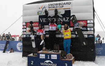 Nuevo podio de Lucas Eguibar en la Copa del Mundo de SBX