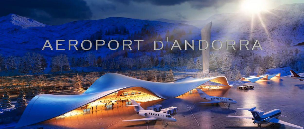 Andorra presenta el proyecto para su aeropuerto junto a las pistas de esquí de Grau Roig