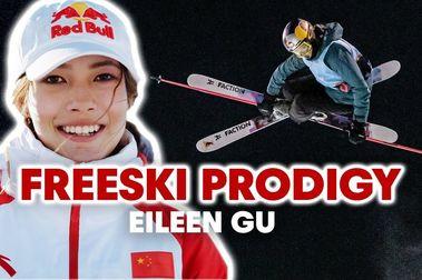 Eileen Gu, la reina del freeski en Aspen