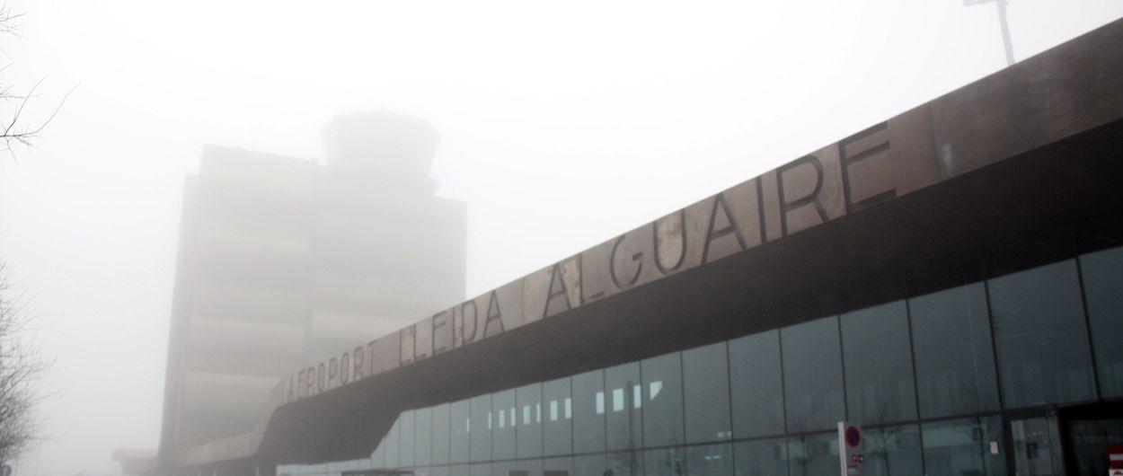 La niebla podría alejar a los esquiadores del aeropuerto de Alguaire