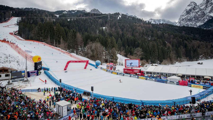 Copa del Mundo en Garmisch Partenkirchen