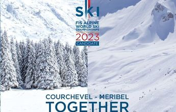 Courchevel-Meribel 2023 organizará los Mundiales de esquí alpino