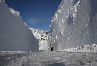 Esquiar en verano en Noruega