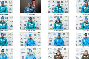 Equipos Oficiales RFEDI temporada esquí y snowboard 2020-2021