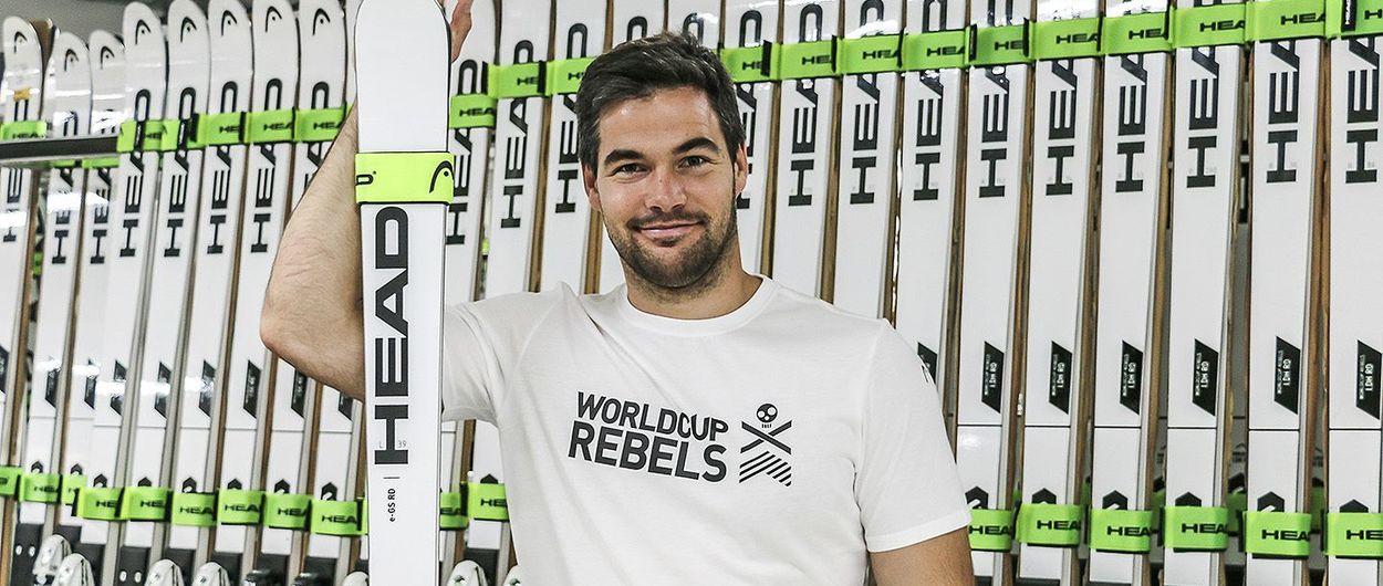 El esquiador Vincent Kriechmayr ficha por el World Cup Rebel de Head