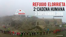 II Cadena Humana al Refugio Elorrieta