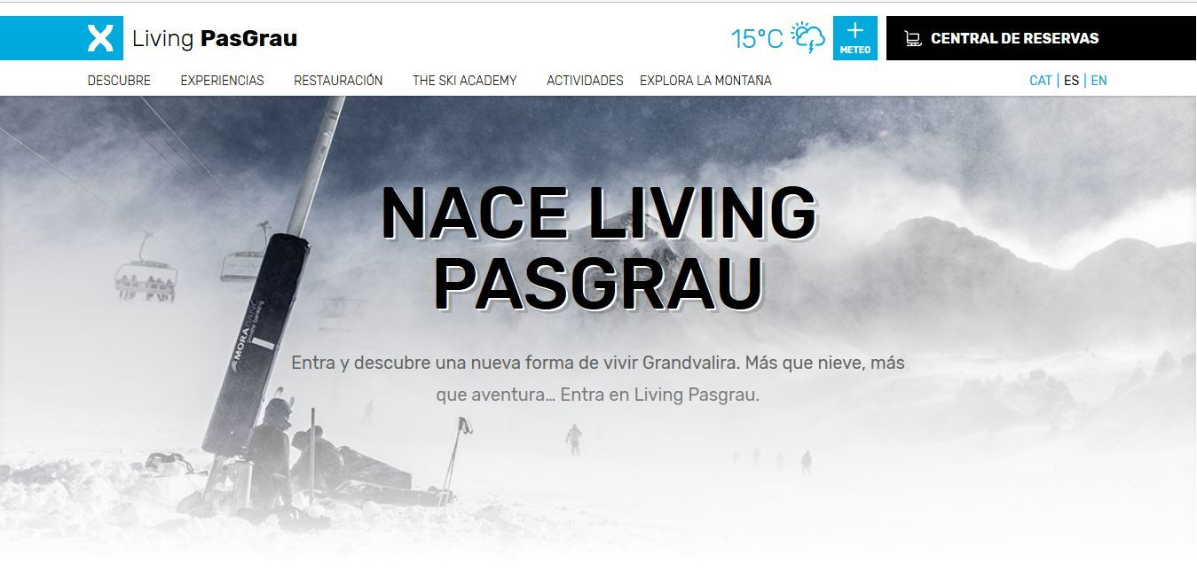 Nave Living Pas Grau