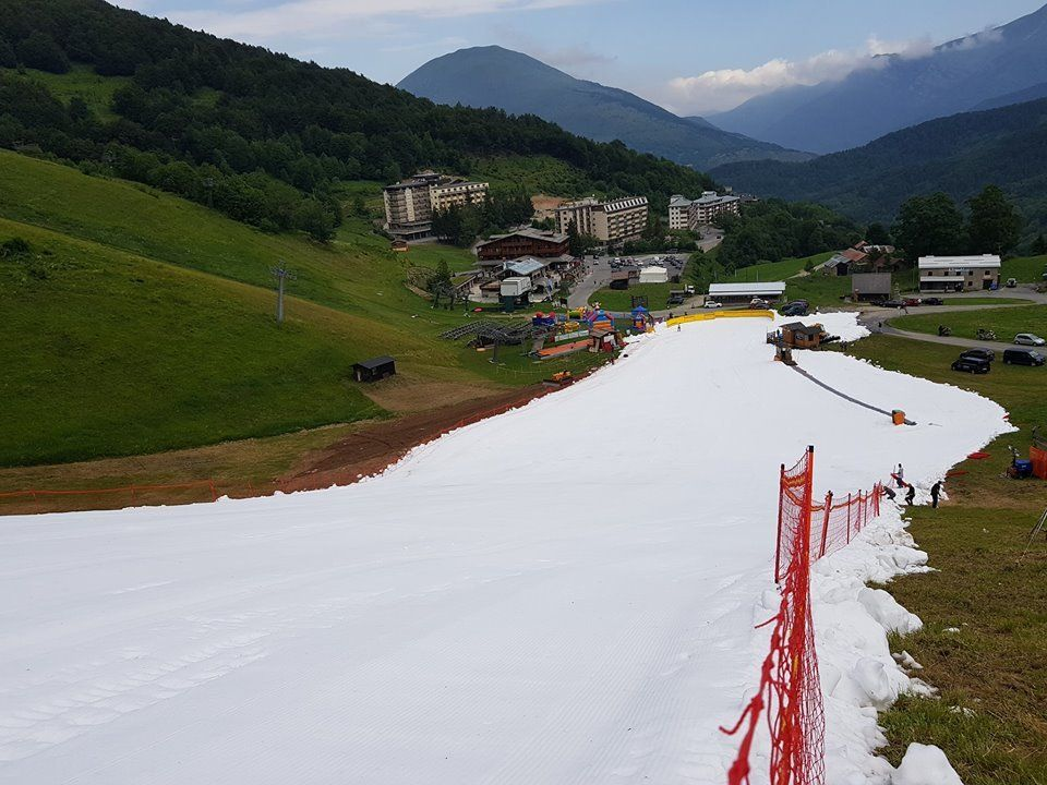 Ski en Limone Piemonte en Julio