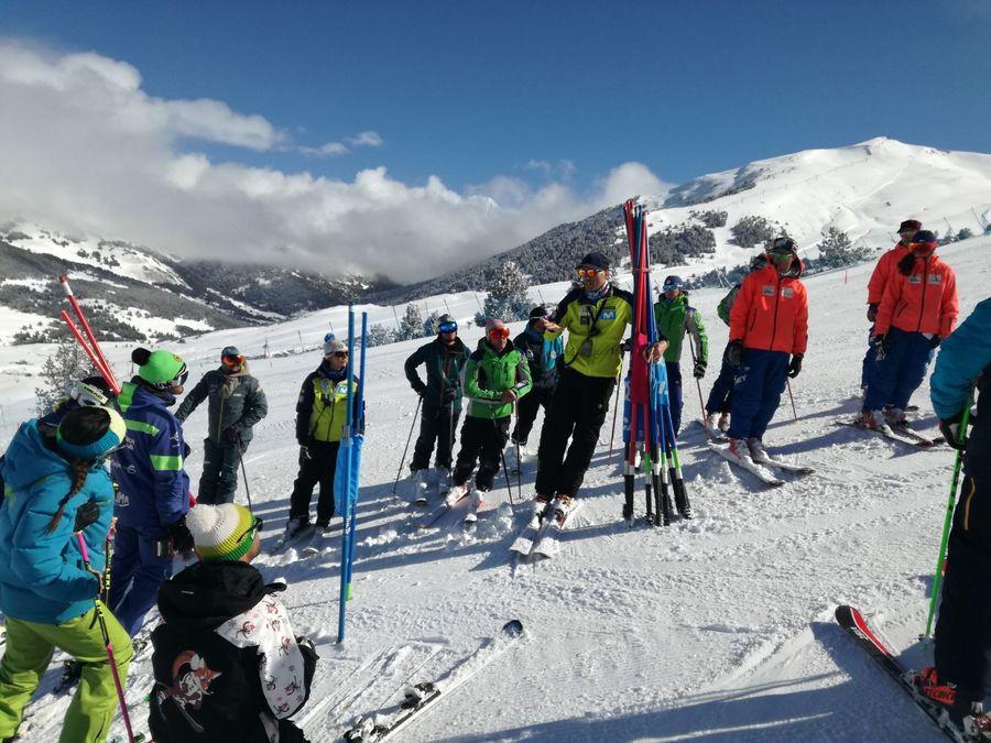 Curso de técnicos de esquí