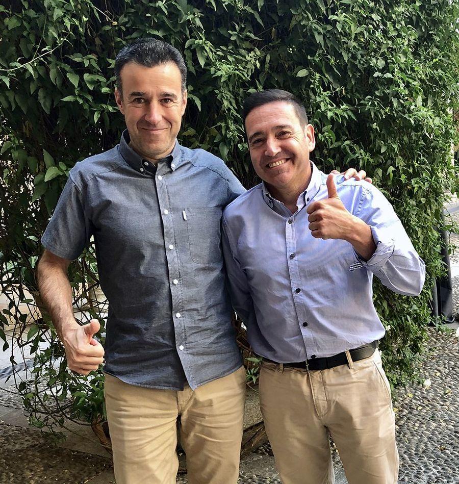May Peus y Javier Ocaña