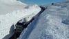 Murallones de 6 mts. de nieve en paso Internacional Pino Hachado