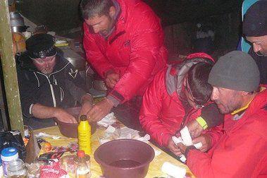 Crónica IV KHAN TENGRI: Alegrías en el Campo Base