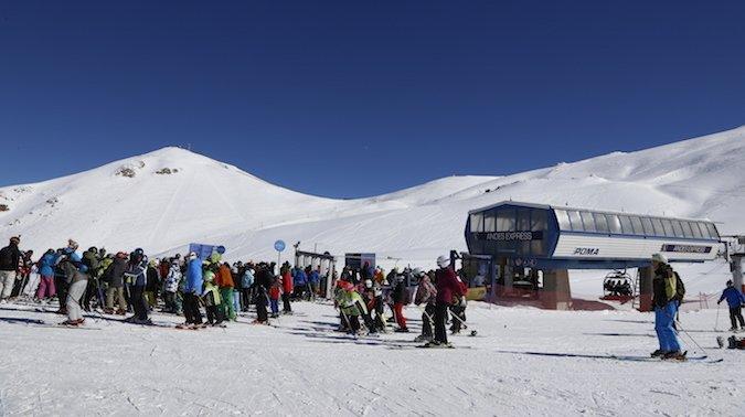Centros de ski sacan cuentas alegres de temporada 2017