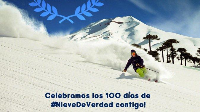 Corralco celebra 100 días de temporada con precios rebajados