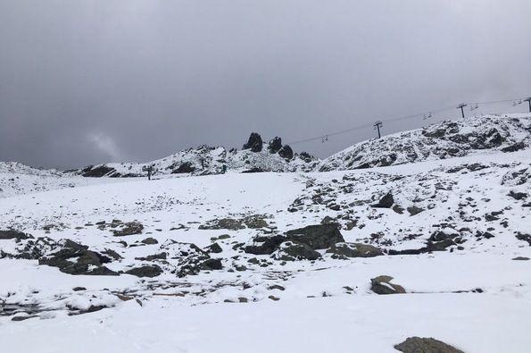 Última nevada del verano