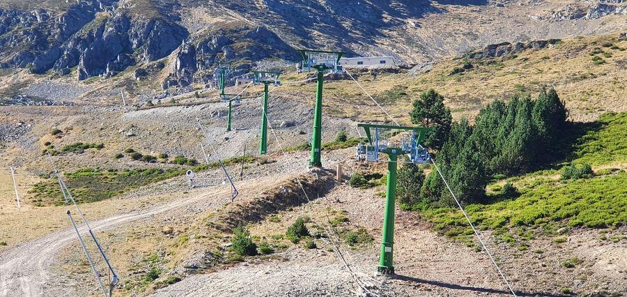 Nuevo telesilla Corrales de Valdezcaray