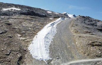Tignes prepara esta pista de esquí para abrir el día 30 de septiembre