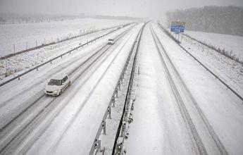 Los mapas prevén una llegada de nevadas abundantes