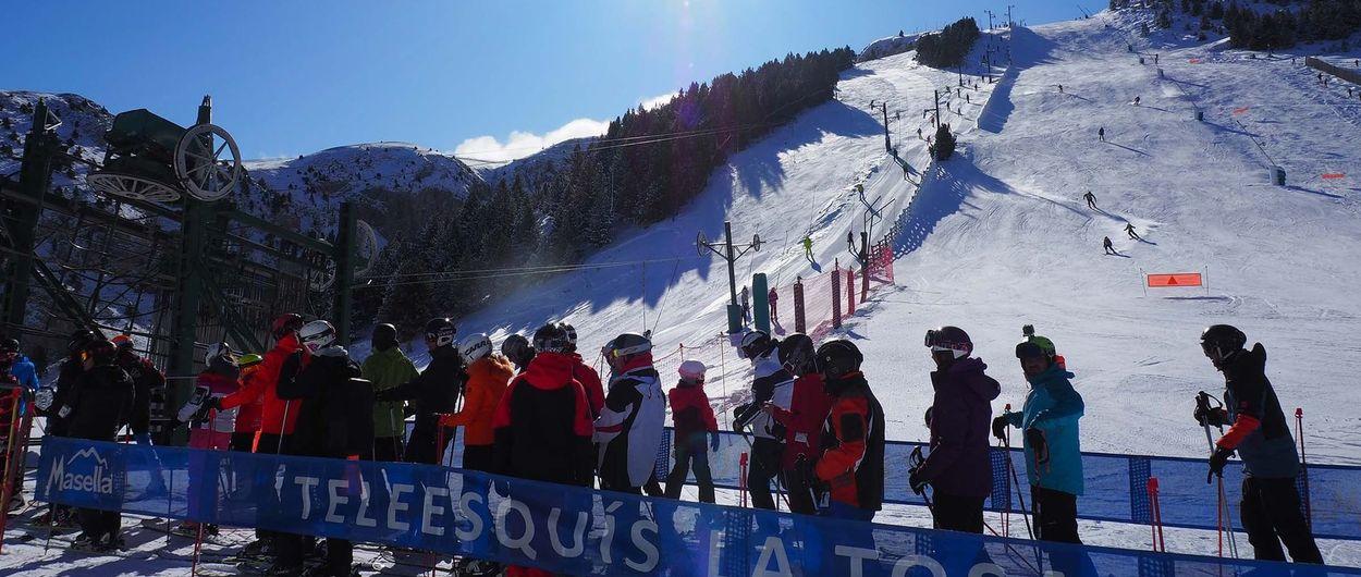 Masella anuncia que no cerrará su temporada de esquí hasta el 3 de mayo de 2020