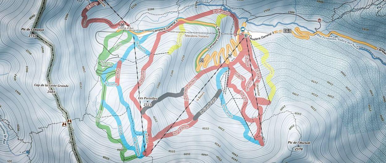 ¿Aún no esquías con mapas de curvas? Aprende a usarlos en pocos minutos