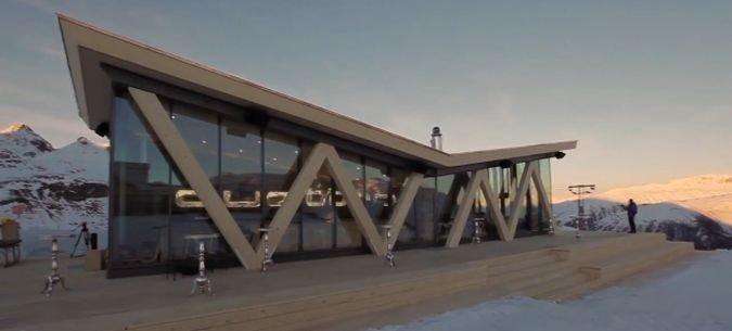 Audi monta un bar Quattro en Saint Moritz