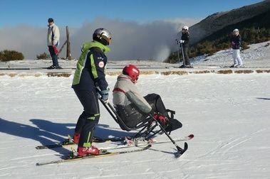Cursos esquí alpino y snowboard adaptado (La Pinilla) 2014/15