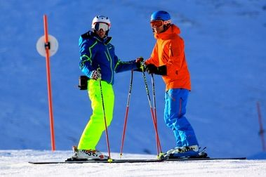 Aprender a esquiar con Sam