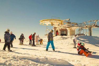 Serra da Estrela tiene que retirar su cinta de esquiadores