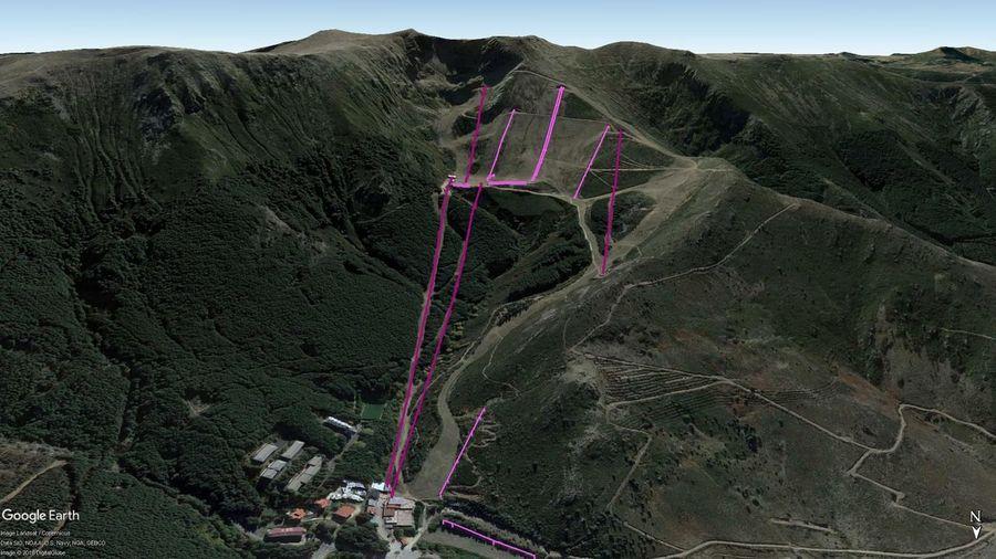 Vistas Google Earth La Pinilla  2018-19