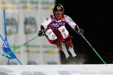 Hirscher repite victoria en el Slálom Paralelo de Alta Badia