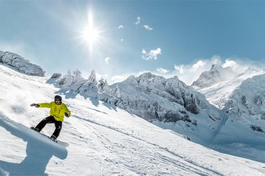 Qué bonito es Candanchú con nieve!!