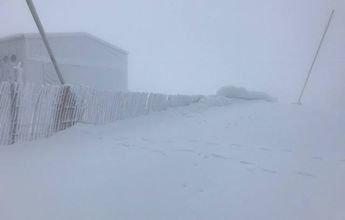 La Pinilla registra un frío polar con -13,5ºC de temperatura