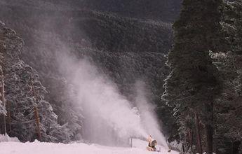 La estación de esquí de El Puerto de Navacerrada abre el sábado